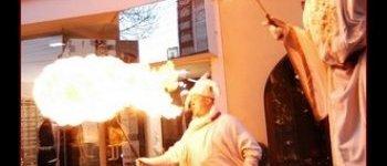 Cracheur et jongleur de feu