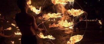 La sphère enflammée