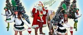 e père Noël et ses sapinettes