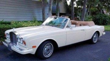 Rolls Royce Corniche II Cabriolet