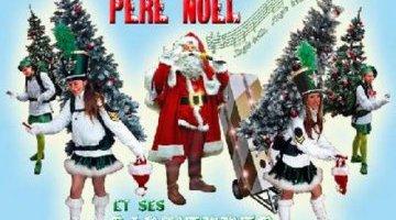 le père Noël et ses sapinettes